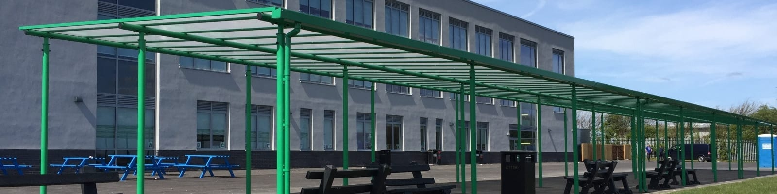Blackpool Aspire Academy Green Shelter