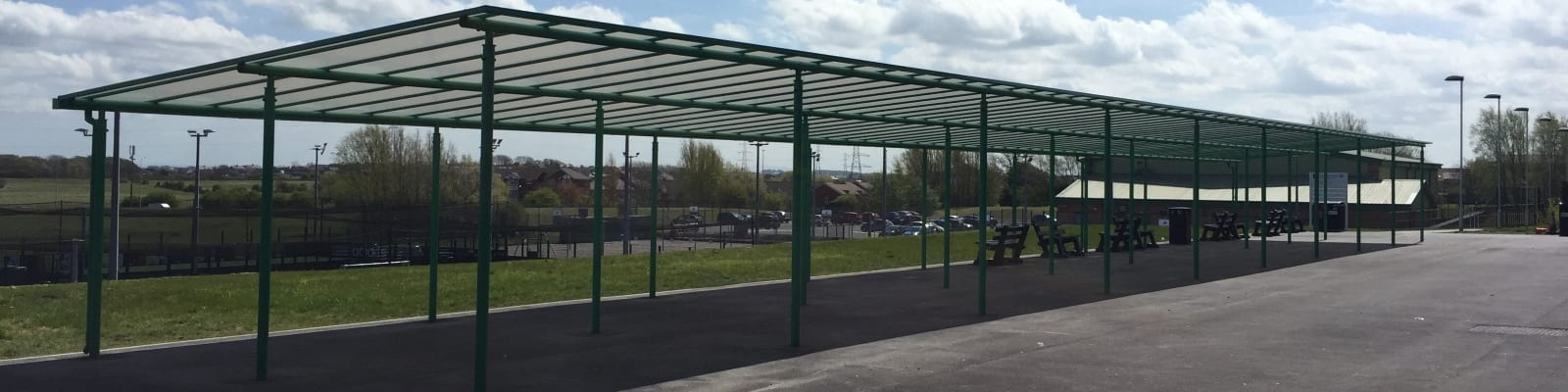 Blackpool Aspire Academy Green Shelter