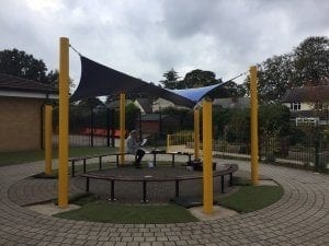 Shelter added to Hasland Junior School