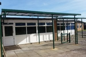 Shelter fitted at John Fielding School