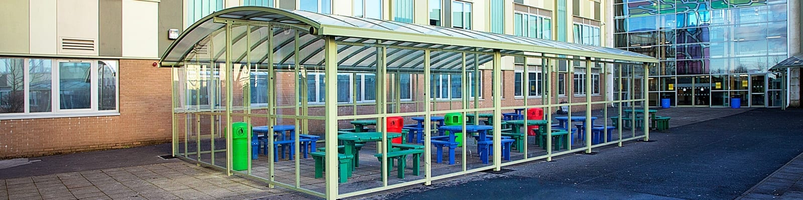 Our Ladys RC High School Dining Canopy