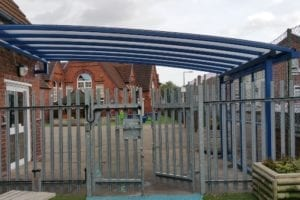Shelter installed at Reddal Hill School