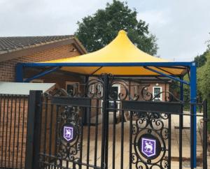 St John's School Tepee Canopy