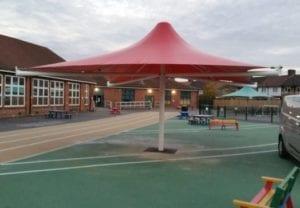 Sydney Russell School Umbrella Canopy