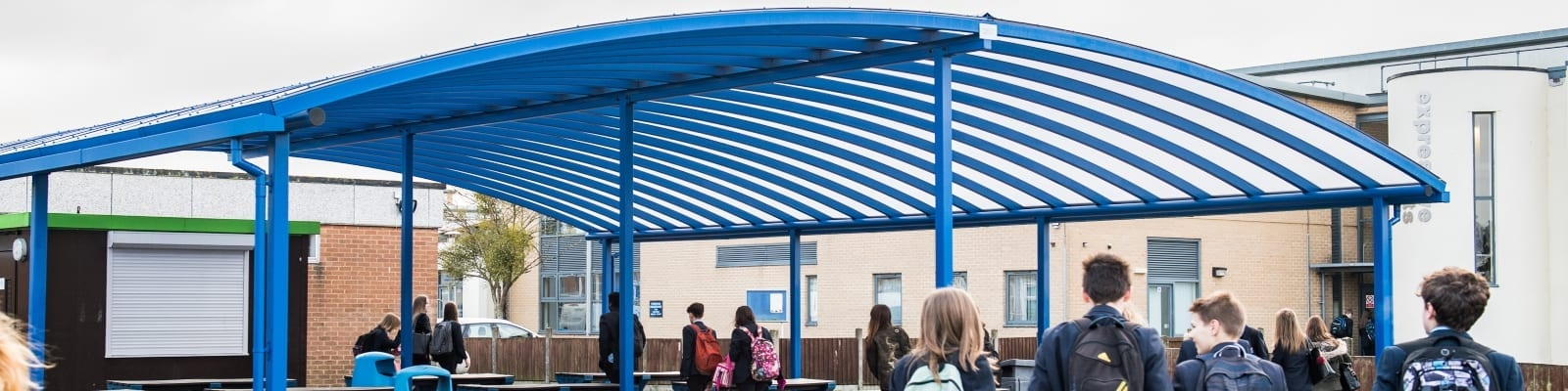 Tewkesbury School Dining Shelter