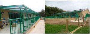 Abbotts Hall School Shelter
