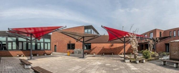 Aldersley High School Shade Sails