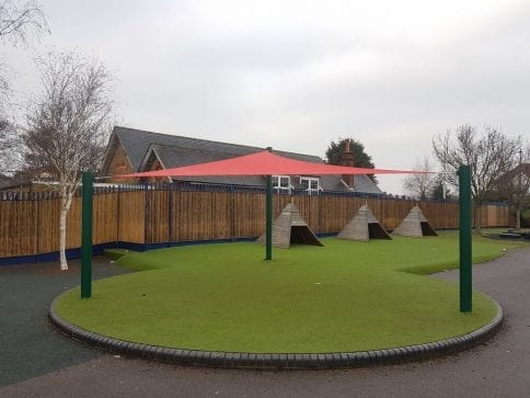 Bedfont Primary School Shade Sail