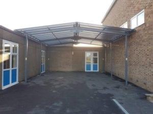 Biddulph High School Staffordshire Canopy