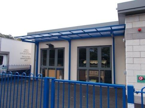 Bodnant Community School Shelter