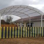 Cann Hall Primary School Canopy