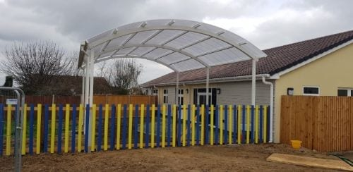 Cann Hall Primary School Canopy
