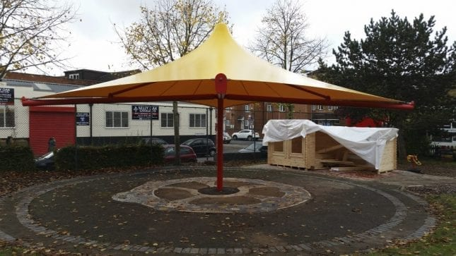 Coronation Road Play Centre Canopy