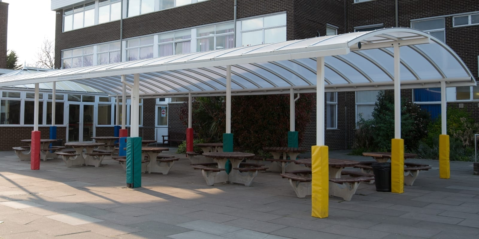 The Coopers and Coburn School Dining Canopy