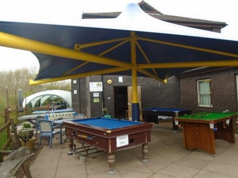 Droitwich High School Umbrella Canopy