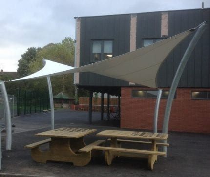 Dunstall Hill School Shade Sail