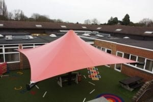 Friars Academy Umbrella Canopy