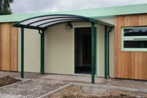 Greenfield Primary School Entrance Canopy