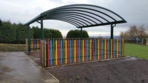 Hawksworth Primary School Canopy