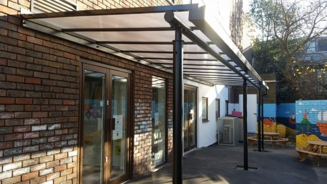 Heathgate House Entrance Canopy