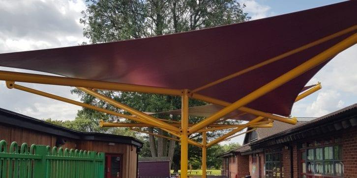 Holy Trinity School Canopy