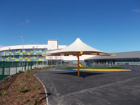 Holywell Learning Campus Umbrella Canopy