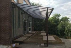 Horwich Parish School Canopy