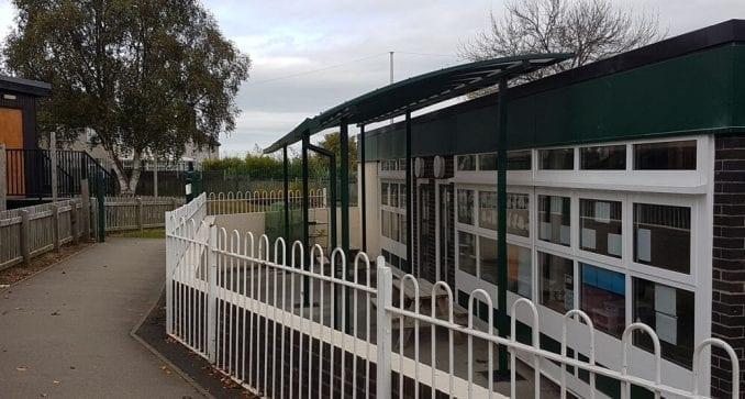 John Fletcher Primary School Canopy