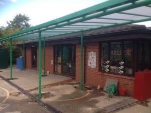 Kessingland Primary School Shelter