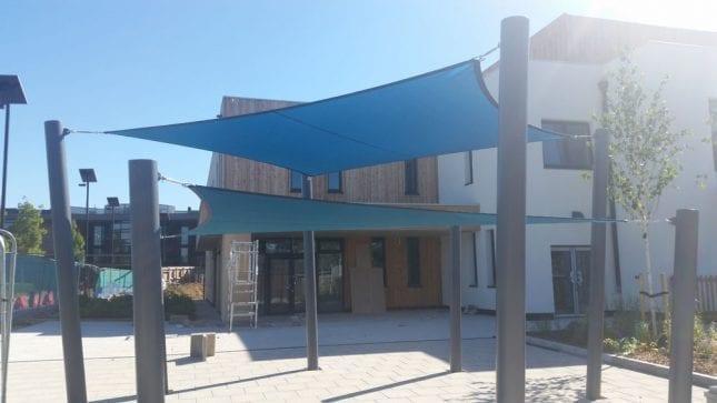 Langley Academy Primary School Canopy