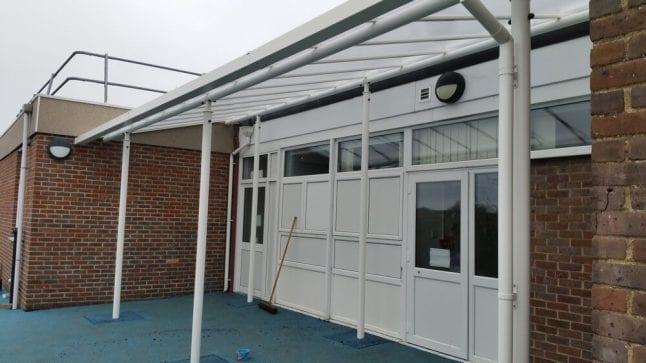 Loddon Primary School Shelter