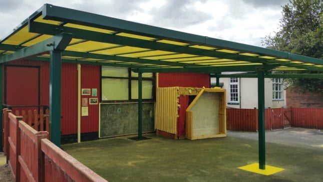 Lower Heath Primary School Canopy