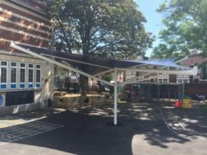 Mayfield School Canopy