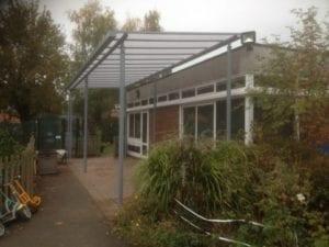 Mereside Primary School Shelter
