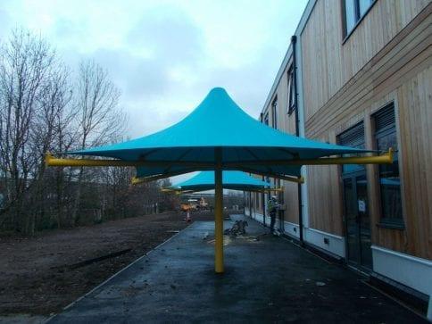 Meridian Angel School Umbrella Canopy