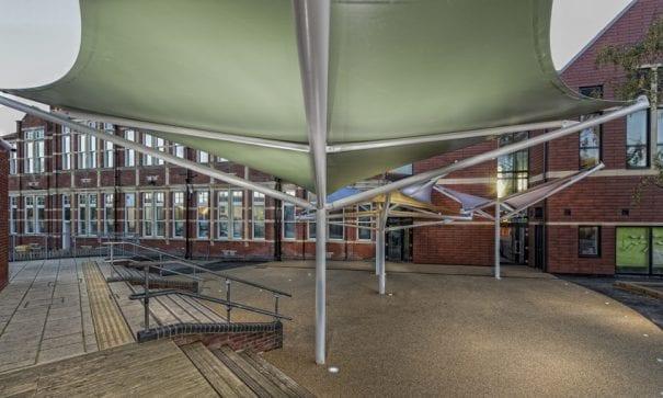 Milton Park Primary School Shade Sails