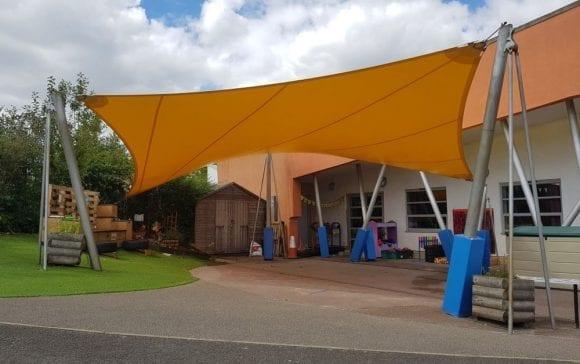 Monkston Primary School Shade Sail