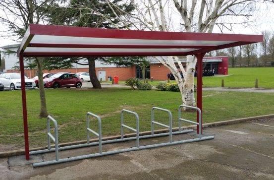 Myton School Cycle Shelter
