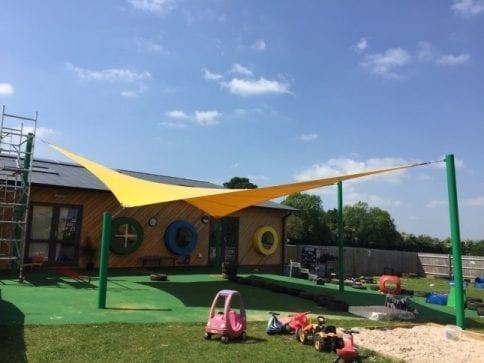 NOA's Ark Nursery Shade Sail
