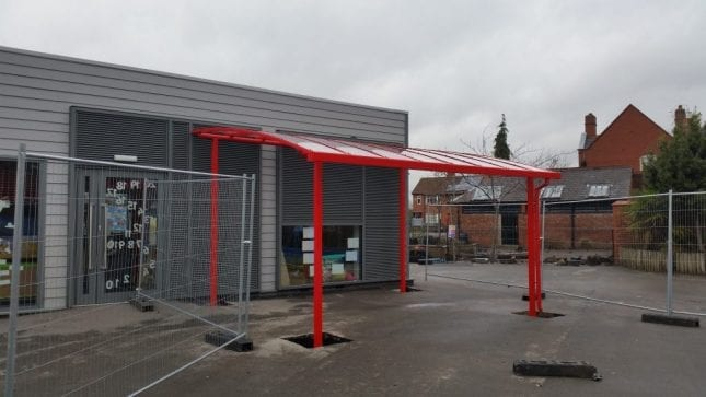 Oswald Road Primary School Shelter