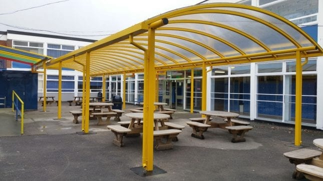 Shelter made for Poynton High School