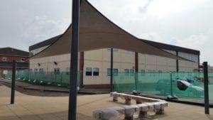 Robert Clack School Fabric Canopy