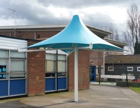 Ryders Green Primary School Umbrella Canopy