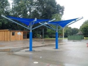 Sacred Heart Catholic School Canopy