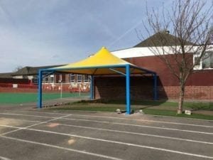 Shelter designed for Pennyhill Primary School
