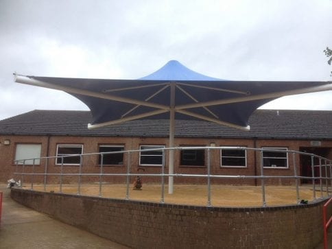 Sharnbrook Academy Umbrella Canopy