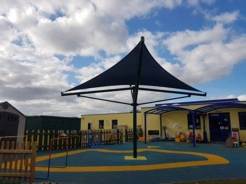 Sowe Valley School Shade Sail