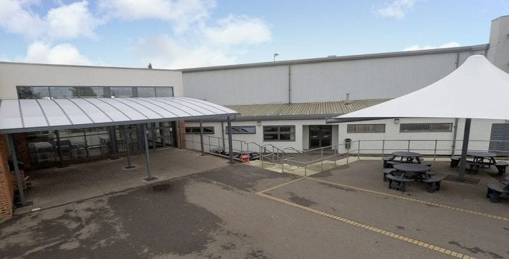 St Lawrence Academy Canopies