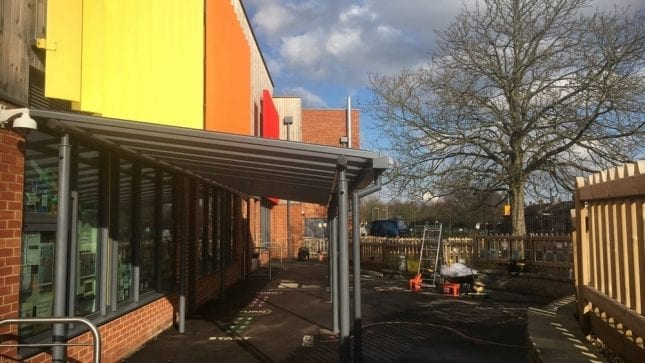 St Martins Primary School Canopy