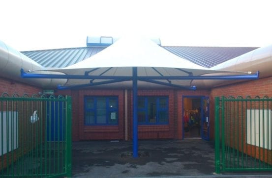 St Oswalds RC Primary School Canopy